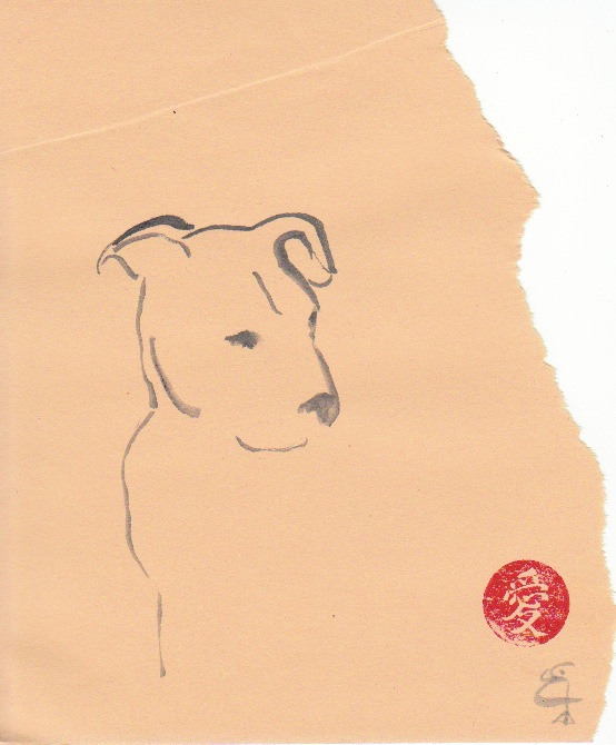 Pit bull hound mix
