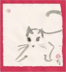 dashing kitty
