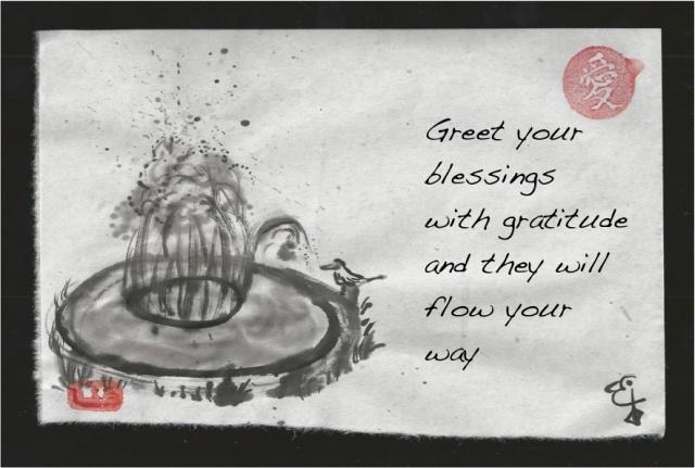 fountain gratitude
