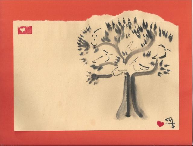 flaming cardinal tree