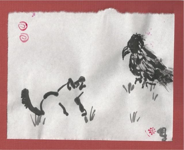 oreo and hawk