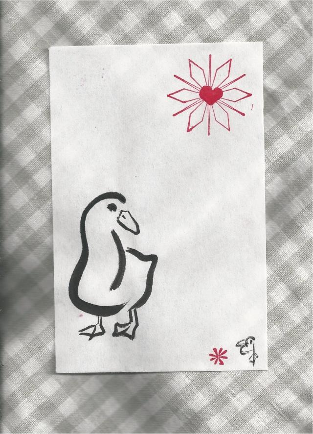new years duck