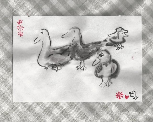 new years ducks