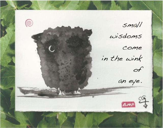 wee owl wisdoms
