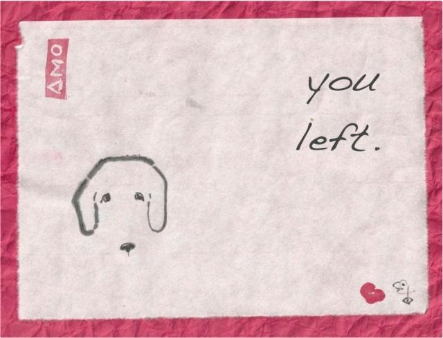 you left poodle face