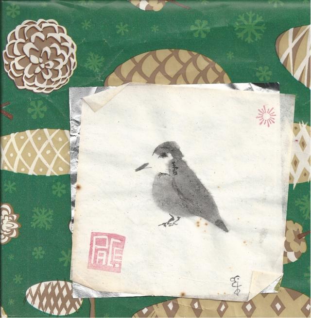 small peace bird