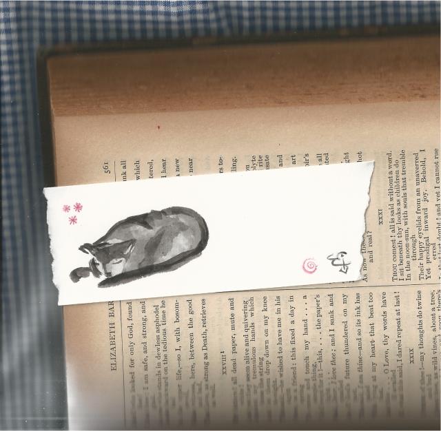 calico bookmark