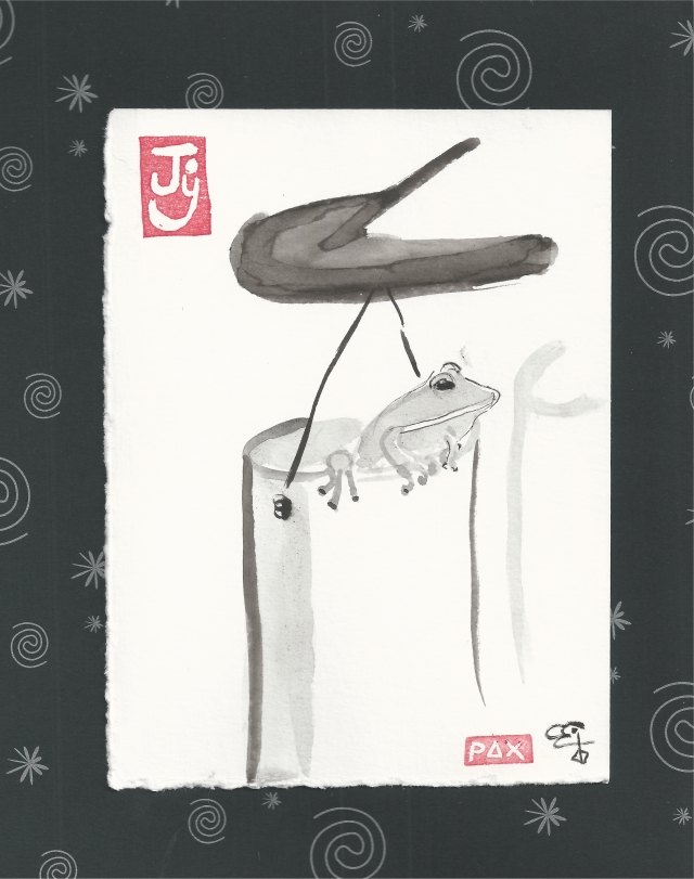 windchimes with frog and spirals-1