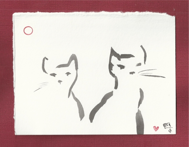 two cats simple-1