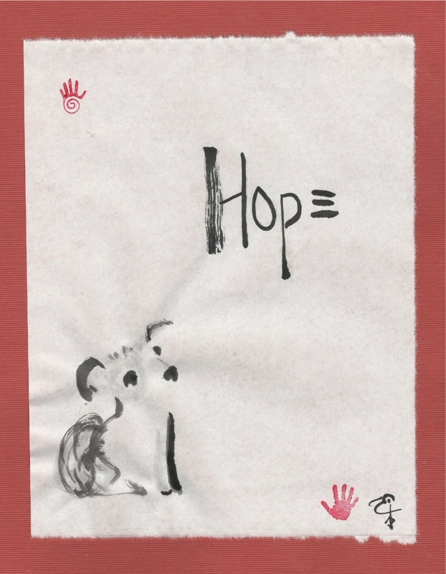 hope equality little dog