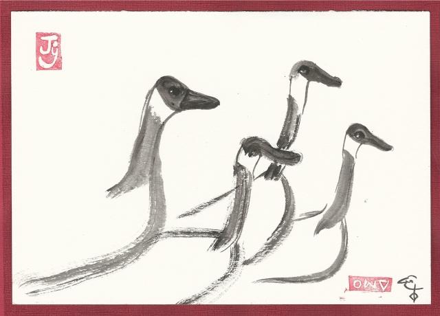 geese-crossing-road