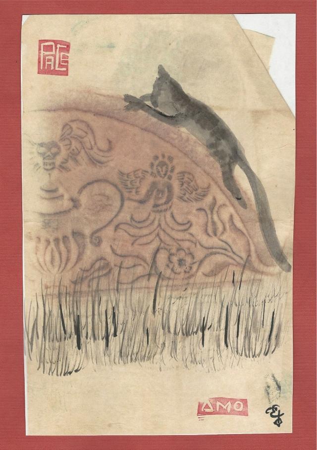 tabby-cat-drapped-on-gravestone