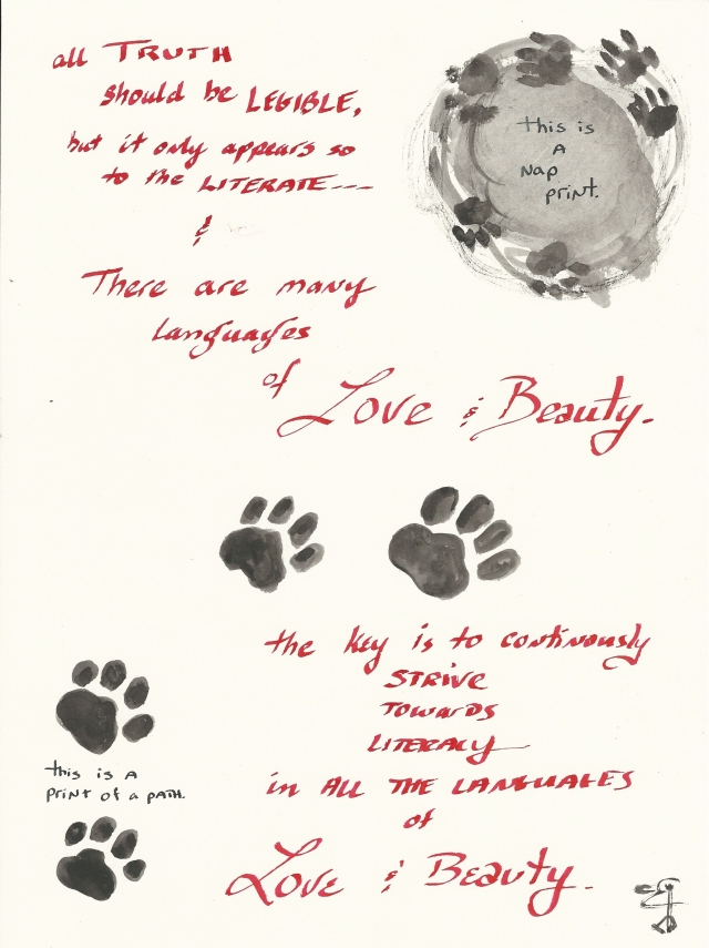 language-of-love-and-beauty-notebook-page